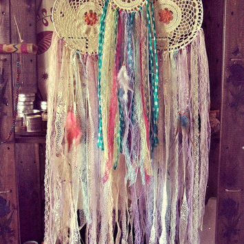 Gypsy Colorful Dreamcatchers Set - Bohemian Decor - Boho Bedroom - Custom Dreamcatcher - Hippie Dream Catcher - Made 2 Order