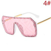 Fendi Fashion New Women Men Sunscreen Leisure Travel Glasses Eyeglasses