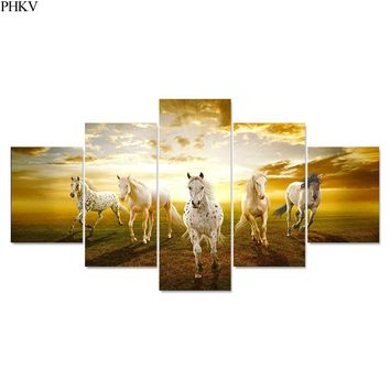 PHKV Wall Art Canvas Framed Poster