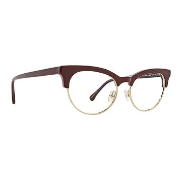 Trina Turk - Malia 51mm Wine Eyeglasses / Demo Lenses