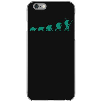 evolution of turtles iPhone 6/6s Case