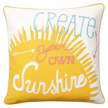 Coastal Inspiration Pillow Cover