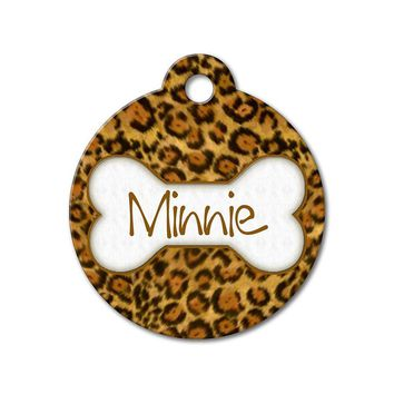 Leopard - Pattern Pet Tags