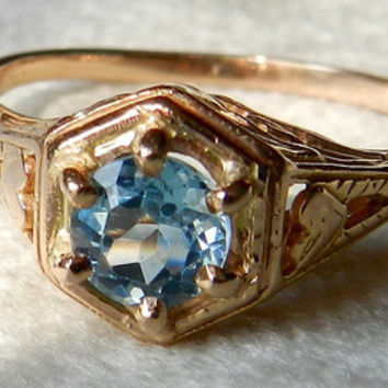 Antique Engagement Ring .25 Ct Old European Cut Diamond Engagement Ring 1920s 18K White Gold .25 Ct Filigree 1920s Engagement Dragon Fly