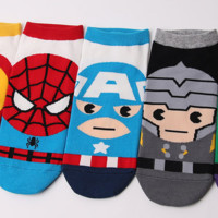 Marvel Avengers Superheroes Socks