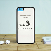 Divergent Tris Tattoo Ravens Quote iPhone 5 5S 5C Case Dewantary