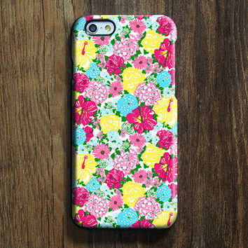 Seamless Colorful Floral iPhone 6s Case iPhone 6s Plus Case iPhone 6 Cover iPhone 5S 5 iPhone 5C iPhone 4s 4 Samsung Galaxy S6 Edge Galaxy s6 s5 s4 Galaxy Note 5Note 4 Case 139