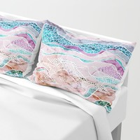 Making Waves Pillow Sham by rskinner1122