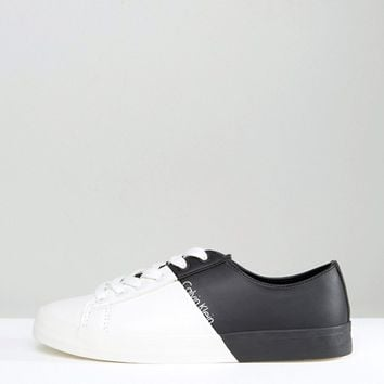 Clavin Klein Jeans Wanda Contrast Sneakers at asos.com