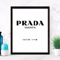 Nordic Decoration Posters And Prints Marfa Gossip Girl Wall Art Canvas Painting Wall Pictures For Living Room No Poster Frame