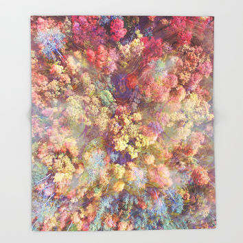 Euphoria Throw Blanket by J.Lauren