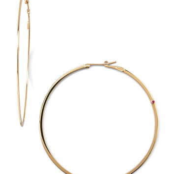 Yellow Gold Hoop Earrings - Roberto Coin