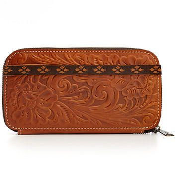 Patricia Nash Tooled Oria Wallet | macys.com