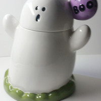 Ghostly Little Cookie / Treat Jar