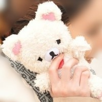 3D Cute Teddy Bear Toy Doll Plush Cover Case For Mobile Smart Phones (Nokia Lumia 521 (T-Mobile) RM-917, White)