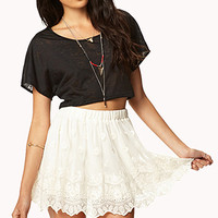 Romantic Lace Skirt