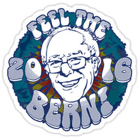 Bernie Feel The Bern Sanders by BernieStickers
