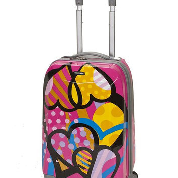 "F151-LOVE 20"" Polycarbonate Carry On  Luggage Set"