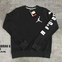 Nike Air Jordan Hedging pullover Sweater Tops H-A-XYCL