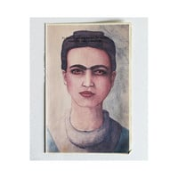 Frida Kahlo Fine Art Unique Print Watercolor by joyfulstudio