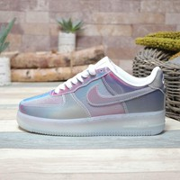 Nike Air Force 1 07 LV8 Metallic Silver Pink