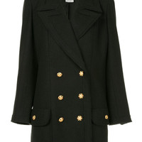 Chanel Vintage Low Waist double-breasted Coat - Farfetch