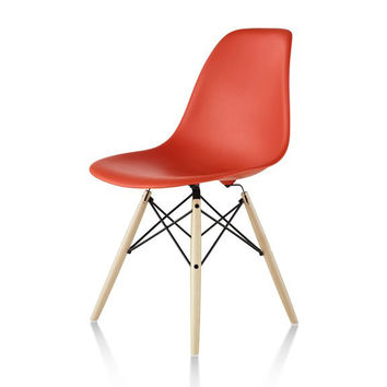 Herman Miller Eames® Molded Plastic Side Chair Dowel Base