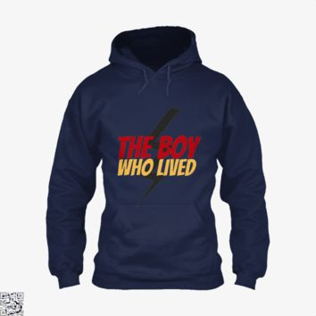 The Boy Who Lived, Harry Potter Hoodie