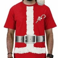 Santa Claus Christmas Costume T-Shirt #B138