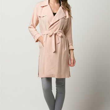 Blush out Coat
