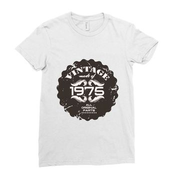 vintage made of 1975 all original parts Ladies Fitted T-Shirt