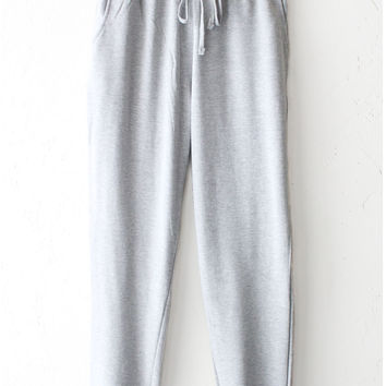 French Terry Knit Sweatpants