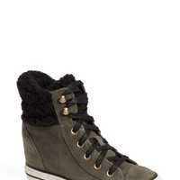 Converse Chuck Taylor All Star Faux Shearling High Top Platform
