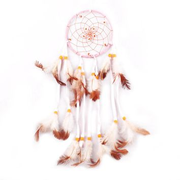 Top Sale Handmade Dream Catcher With Feathers Wall Hanging Decoration Ornament Gift