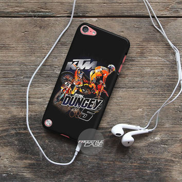 Black Ryan Dungey Motocross #5 iPod Case Cover Series