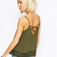 Vero Moda Lace Detail Cami Top