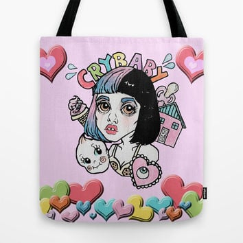 CryBaby -Melanie Martinez Tote Bag by Julio César