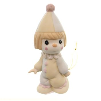 Precious Moments Clown Birthday Train Figurine