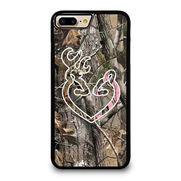 CAMO BROWNING LOVE iPhone 4/4S 5/5S/SE 5C 6/6S 7 8 Plus X Case
