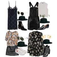 Requested: Outfits with ASOS felt fedora for vacation