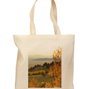 Nature Photography - Gentle Sunrise Grocery Tote Bag by TooLoud