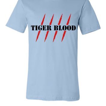 Tiger blood - Unisex T-shirt