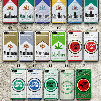 Cigarettes Box iPhone 5 Case, Cigarettes Packaging iPhone 5/5s/5c/4s/4 Hard Cases Rubber Case, Cover Skin iPhone 5 5c 5s Case