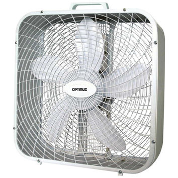 "Optimus Box Fan (20"")"