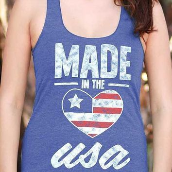 Made in the USA | Essential Racerback Tank