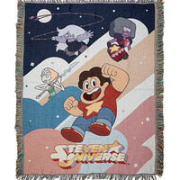 Steven Universe Group Woven Tapestry Throw Blanket