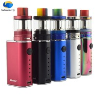 Fashion best electronic cigarette 10-50w box mod e vape starter kit with eletronic variable battery vapor electric mods China