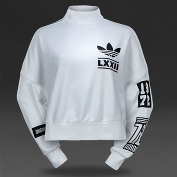 Adidas Originals Womens Berlin Sweater - White Black