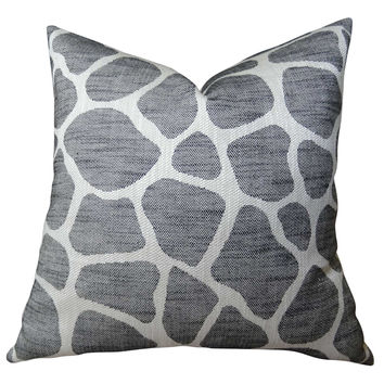 Plutus Rocky Way Onyx Handmade Throw Pillow
