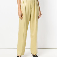 Yves Saint Laurent Vintage high-waist Tailored Trousers - Farfetch